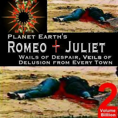 william shakespeare romeo and juliet. Album cover parody of William