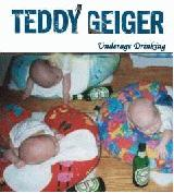 Album cover parody of Underage Thinking by Teddy Geiger