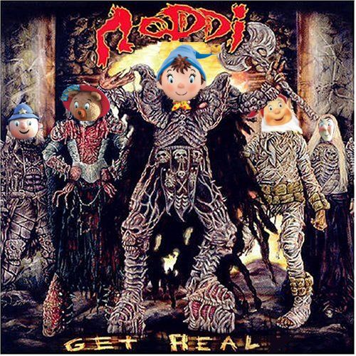 Album cover parody of Get Heavy by Lordi