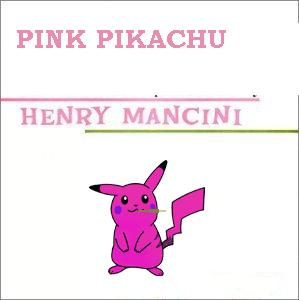 album cover parody of the pink panther by henry mancini henry mancini