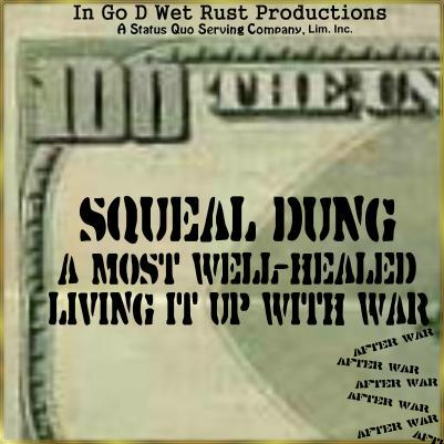 Album cover parody of Living With War by Neil Young