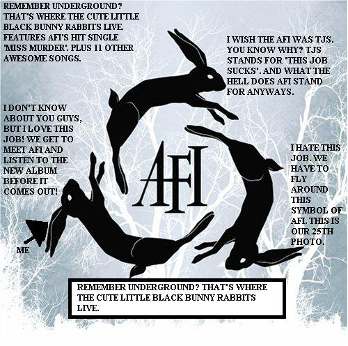 Album cover parody of decemberunderground by AFI