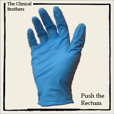 Album cover parody of Push the Button by The Chemical Brothers