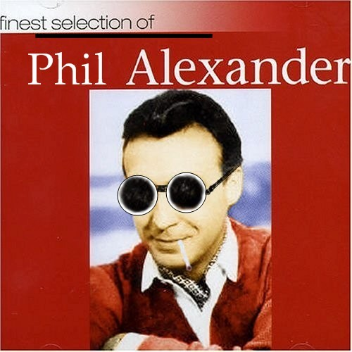 Album cover parody of Finest Selection of Peter Alexander by Peter Alexander