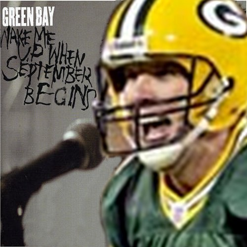 Album cover parody of Wake Me Up When September Ends by Green Day