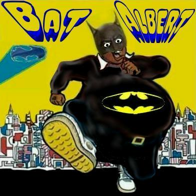 Album cover parody of Fat Albert by Bill Cosby