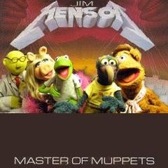 Album cover parody of Master of Puppets by Metallica