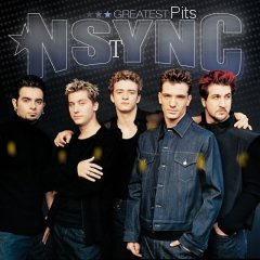 Album cover parody of Greatest Pits by *NSYNC