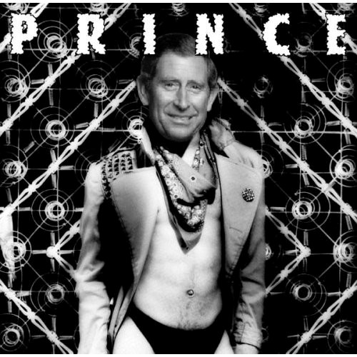 Album cover parody of Dirty Mind by Prince