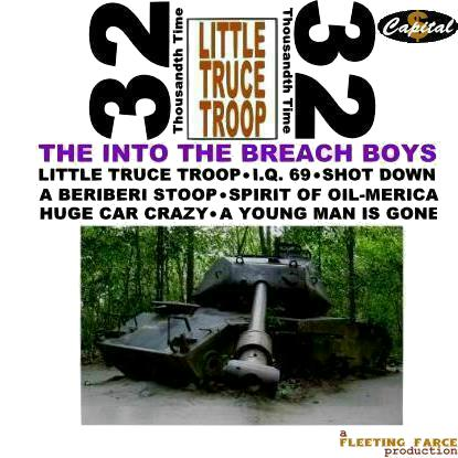 Album cover parody of Little Deuce Coupe by Beach Boys