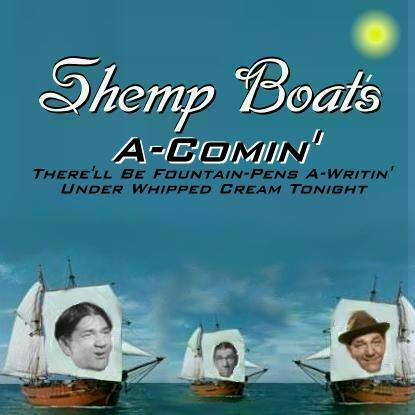 Album cover parody of Shrimp Boats a Comin' There's Dancing To by Jerry Jackson