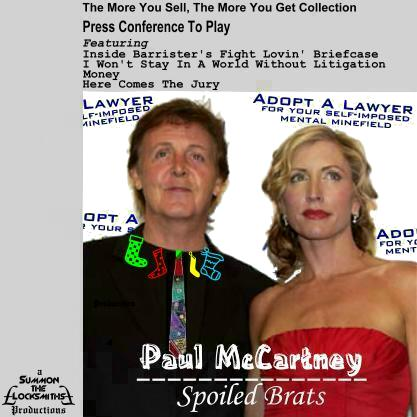 Album cover parody of Press to Play by Paul McCartney