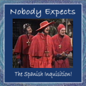 Album cover parody of The Spanish Inquisition by Marc Sabatella