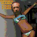 Album cover parody of Push Push by Herbie Mann