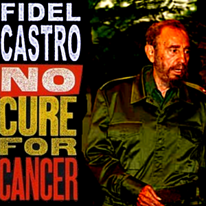 Album cover parody of No Cure for Cancer by Denis Leary