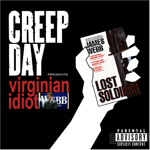 Album cover parody of American Idiot by Green Day
