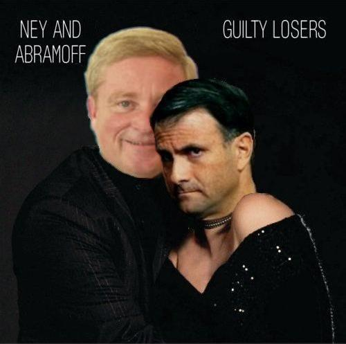 Album cover parody of Guilty Pleasures by Barbra Streisand