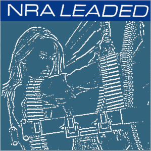 Album cover parody of Leaded by NRA