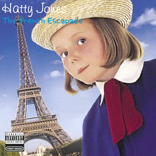 Album cover parody of The