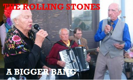 Album cover parody of A Bigger Bang by The Rolling Stones