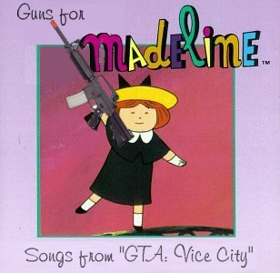 Album cover parody of Hats Off To Madeline: Songs From The Hit TV Series by Various Artists
