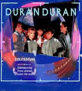Album cover parody of Arena by Duran Duran