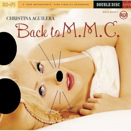 Album cover parody of Back to Basics by Christina Aguilera