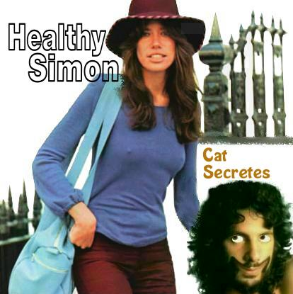 Album cover parody of No Secrets by Carly Simon