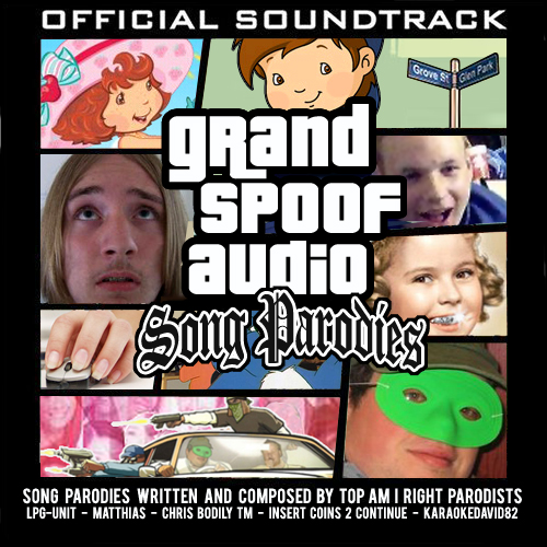 Album cover parody of Grand Theft Auto: San Andreas by Various Artists
