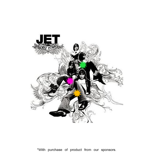 Album cover parody of Get Born by Jet