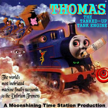 Album cover parody of Thomas & The Magic Railroad: Original Motion Picture Soundtrack by Hummie Mann