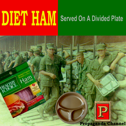 Album cover parody of Vietnam: Songs from a Divided House by Various Artists
