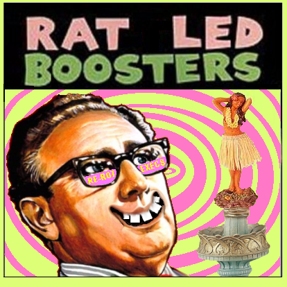 Album cover parody of Retro-Spex by The Rattled Roosters