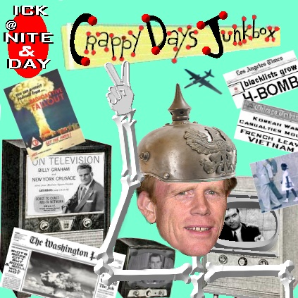 Album cover parody of Happy Days Jukebox by Various Artists