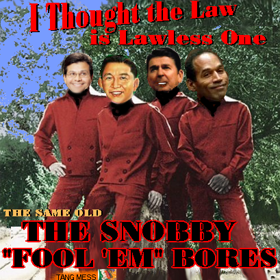 Album cover parody of I Fought the Law: The Best of the Bobby Fuller Four by Bobby Fuller