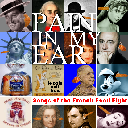 Album cover parody of Spain in My Heart: Songs of the Spanish Civil War by Various Artists
