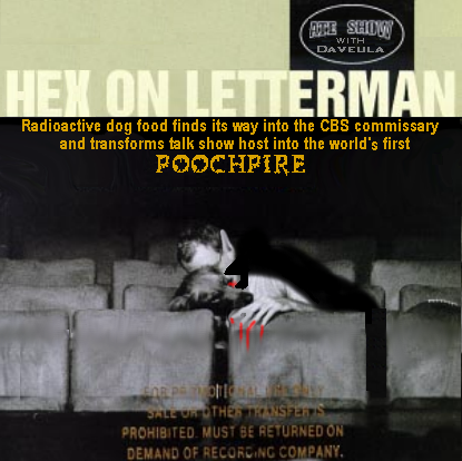 Album cover parody of Live On Letterman : Music From The Late Show by Bill Wendell, Alan Kalter, Leonard Tepper, Manny Papp, Fred Melamed, Sirajul Islam, Kenny Sheehan, Maria Pope, Michael Zegen, Kiva Kahl