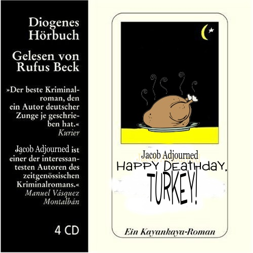 Album cover parody of Happy Birthday Turke! by Rufus Beck