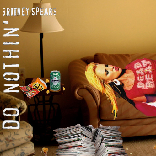 Album cover parody of Do Something, Pt. 1/Everytime by Britney Spears