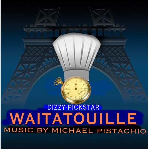 Album cover parody of Ratatouille by Michael Giacchino, Camille