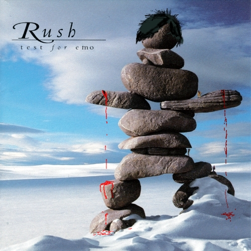 Album cover parody of Test for Echo by Rush