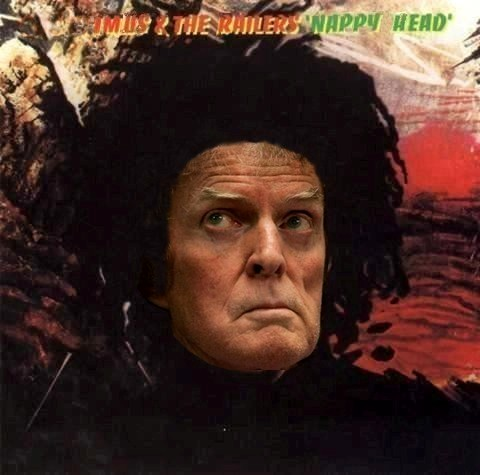 Album cover parody of Natty Dread by Bob Marley & the Wailers