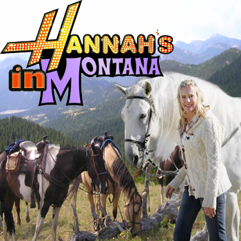 Album cover parody of Hannah Montana by Hannah Montana