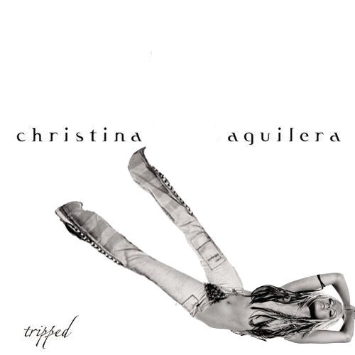 Album cover parody of Stripped by Christina Aguilera