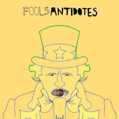 Album cover parody of Antidotes by Foals