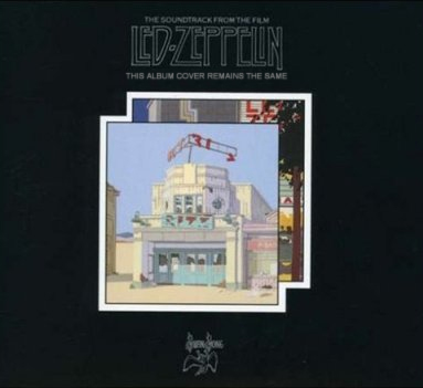 Album cover parody of The Song Remains The Same (Remastered / Expanded) (2CD) by Led Zeppelin