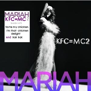Album Cover Parodies of Mariah Carey - E=MC2