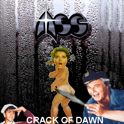 Album cover parody of Crack of Dawn by Mass