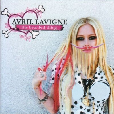 avril lavigne cd cover. Album cover parody of The Best