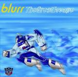 Album cover parody of Great Escape by Blur